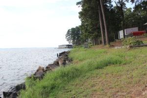 Toledo Bend Rocked Shoreline